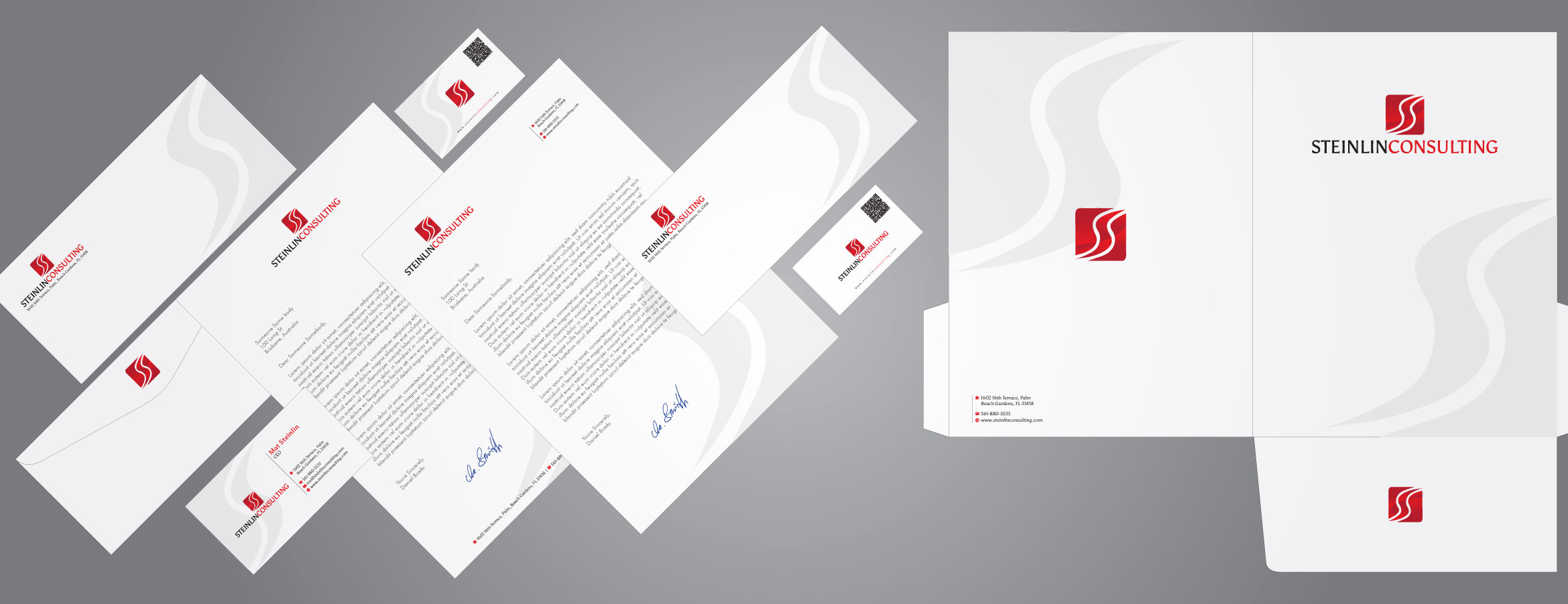 Biz Card + Stationary for IT Consulting Company - Information Technology