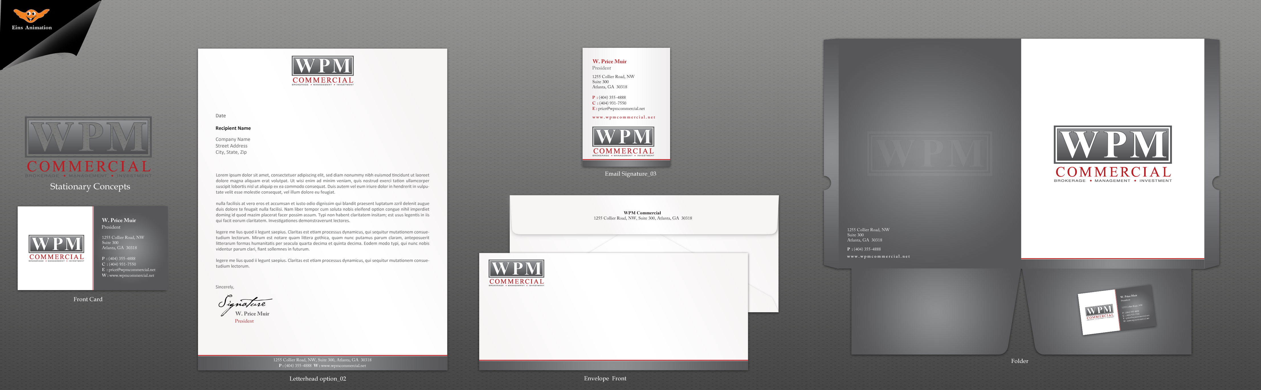 Business Cards/Letterhead for a  Private Equity Real Estate Company - Real Estate