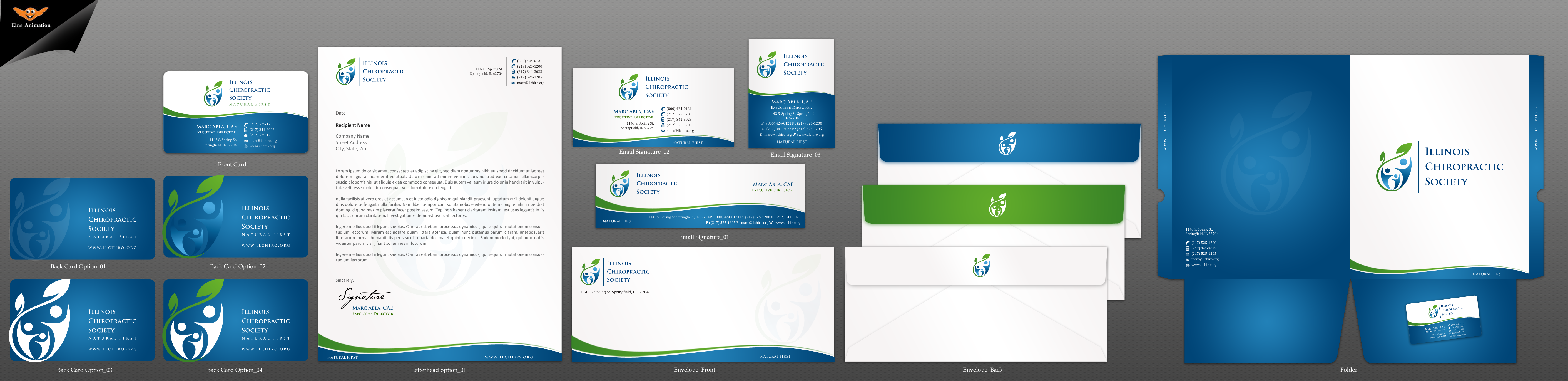 Health Care Association Business Cards and Stationary - Health