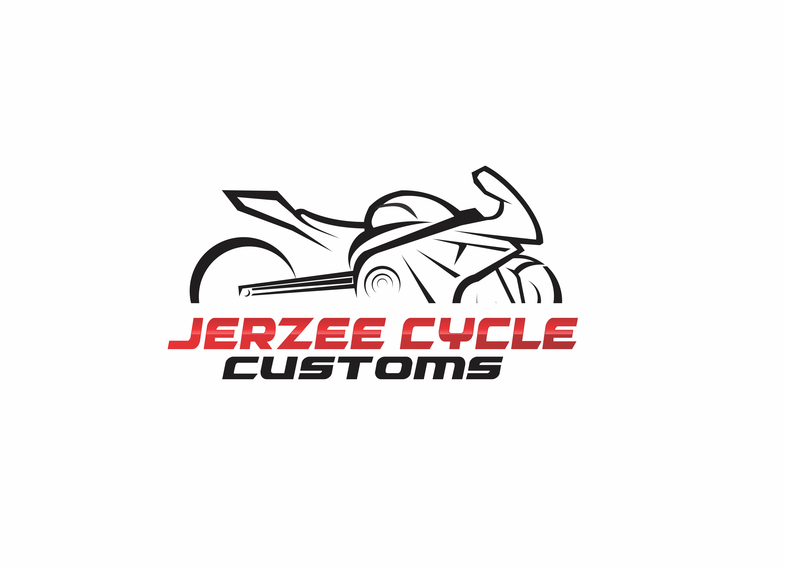 Logo For Custom Motorcycle Shop By Jerzeecycle