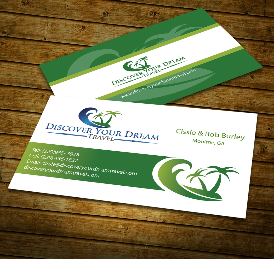 Business cards/ Stationary for new travel agency - Travel