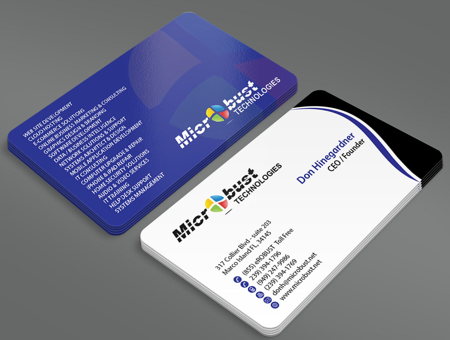 Business Cards and Stationary for technology company - Software