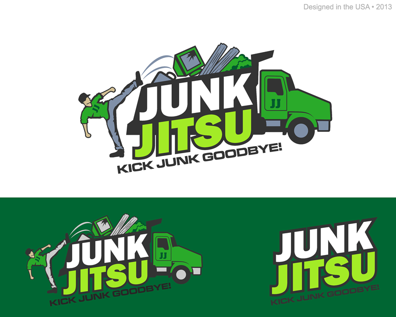 Logo for a junk removal company - Environment Logo