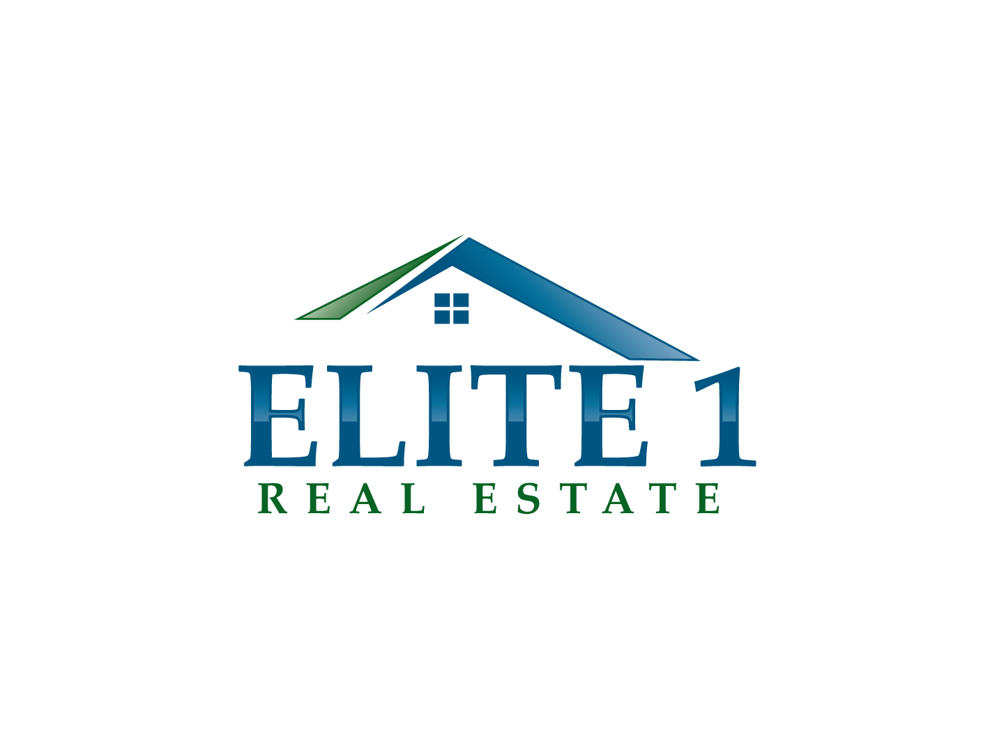 Locally owned Real Estate company - Real Estate Logo