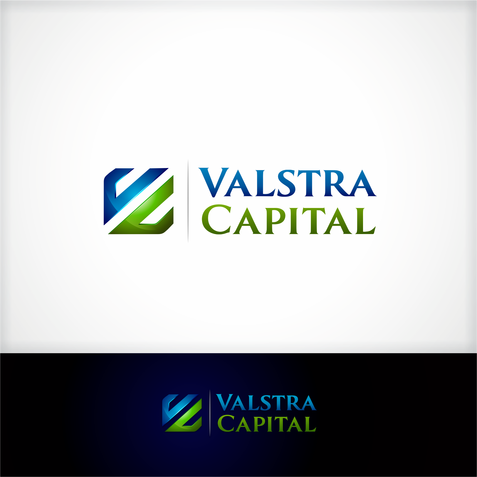 Logo Design - Valstra Capital Inc. - Financial Services Logo
