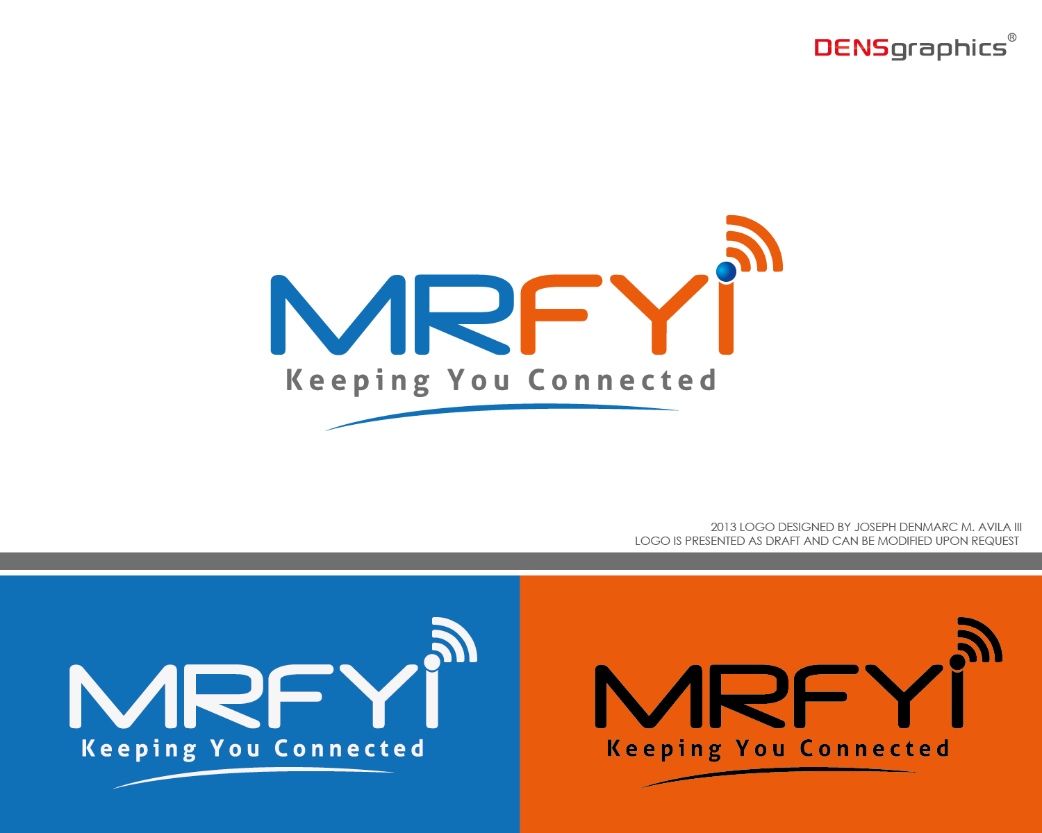 Mrfyi - Communications and Media Logo