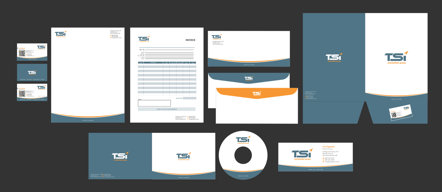 Complete Stationary Package for IT Company - Information Technology