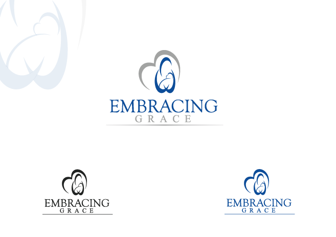 Logo for Embracing Grace a peer support ministry for families with poor prenatal diagnosis - Miscellaneous Logo
