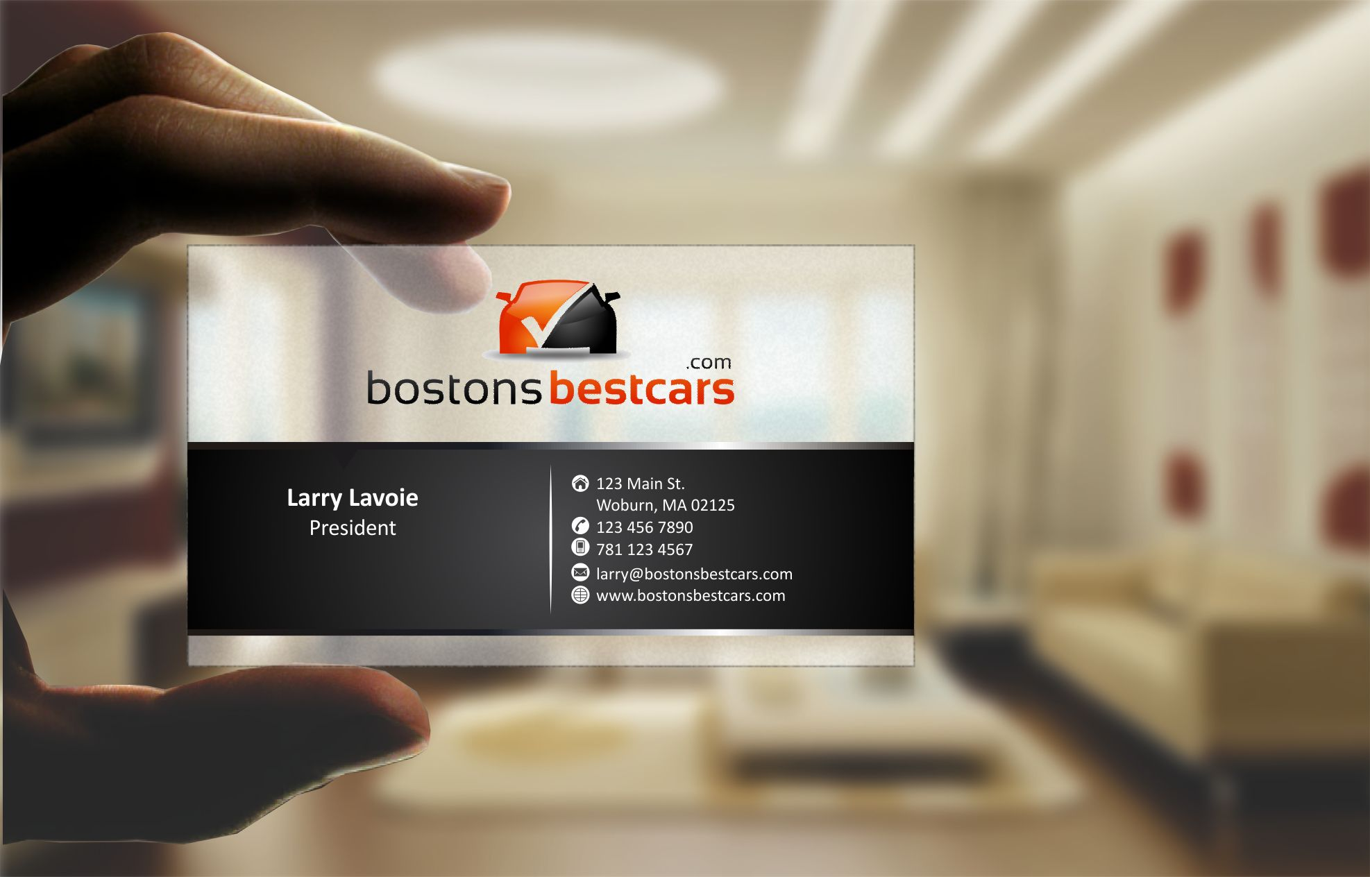 Business card / Stationary for Online Automotive Marketplace - Real Estate