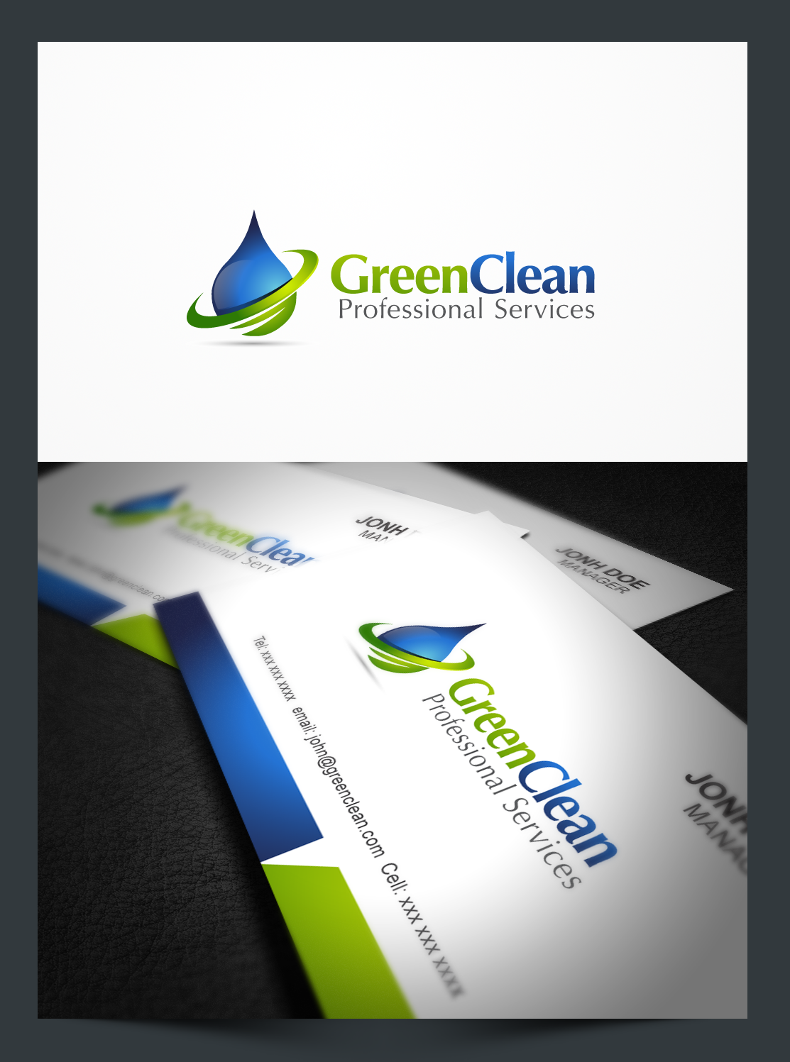 logo for commercial cleaning services - Cleaning Logo