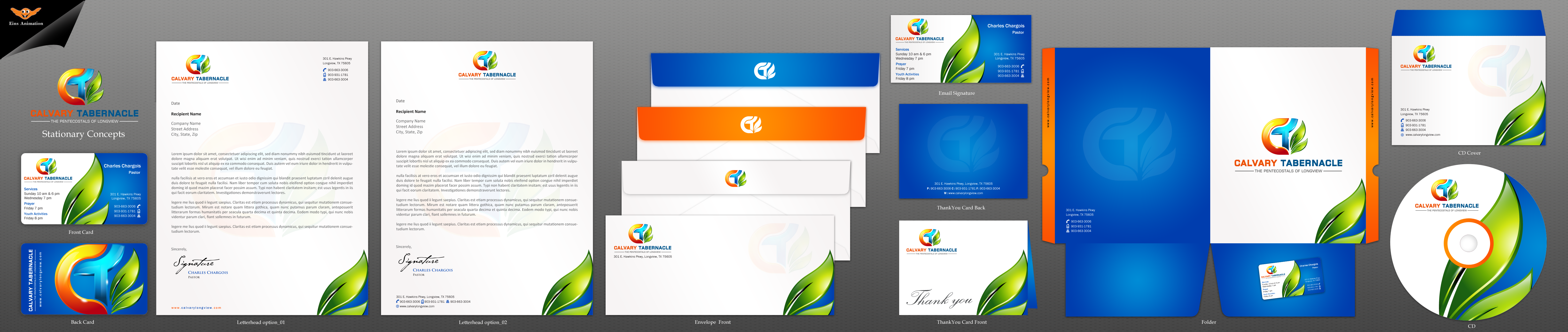 Complete Stationary Package for Calvary Tabernacle  - Religion and Spirituality