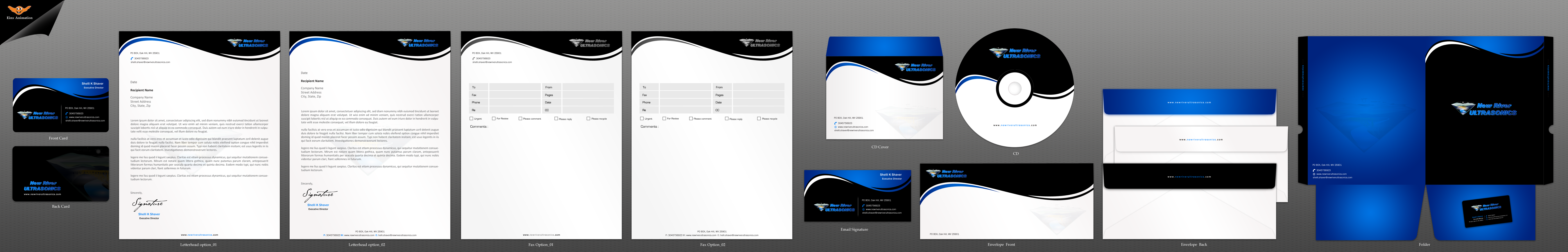 Business cards and Stationary for Mobile Ultrasound Company - Medical