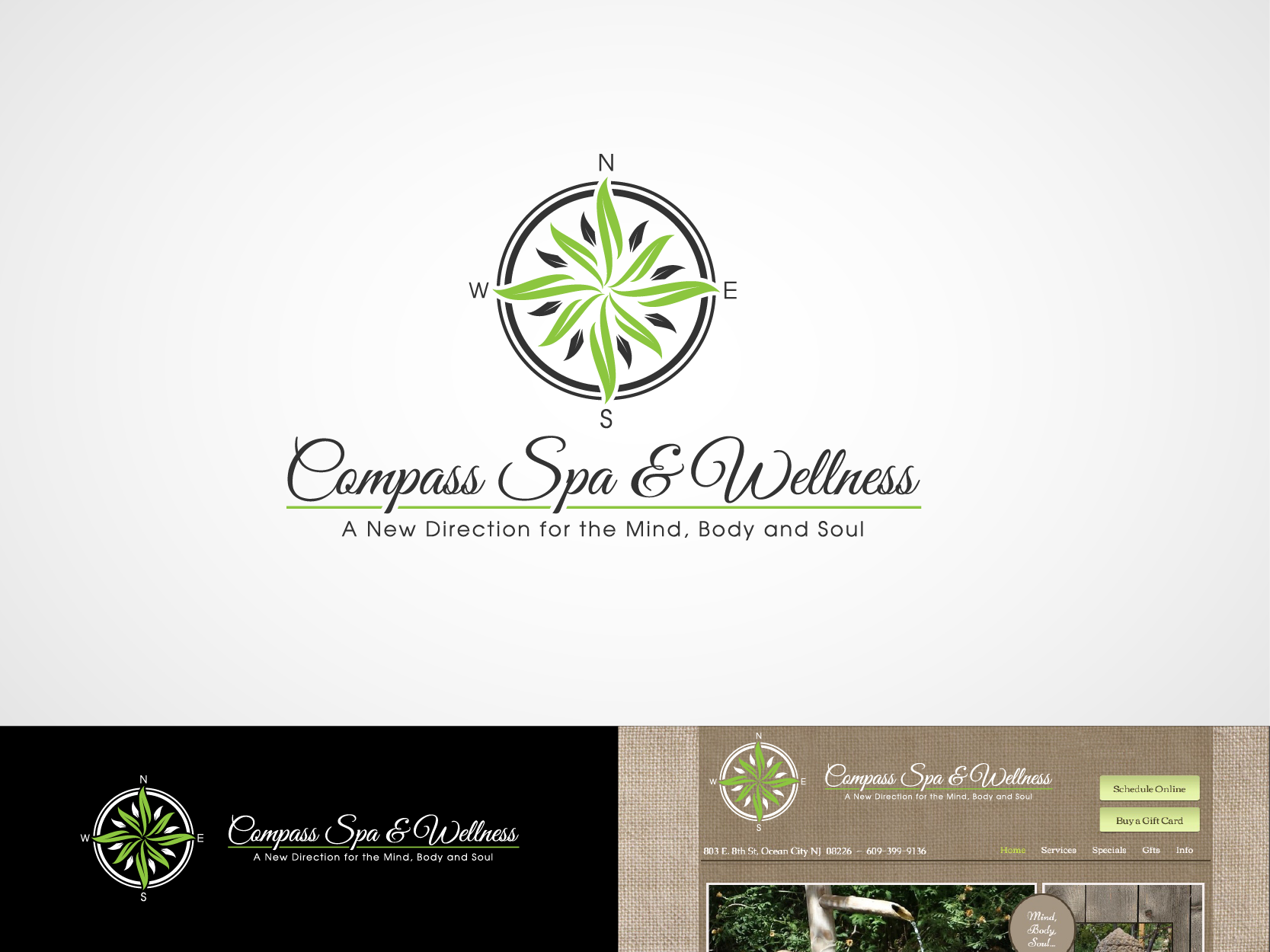 Logo for a Spa - Massage Therapy Logo