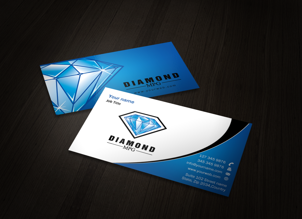 Business Card & Stationary  - Financial Services