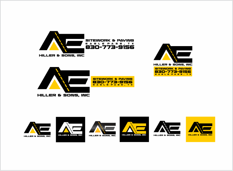 Logo For Asphalt Paving & Excavation Company - Construction