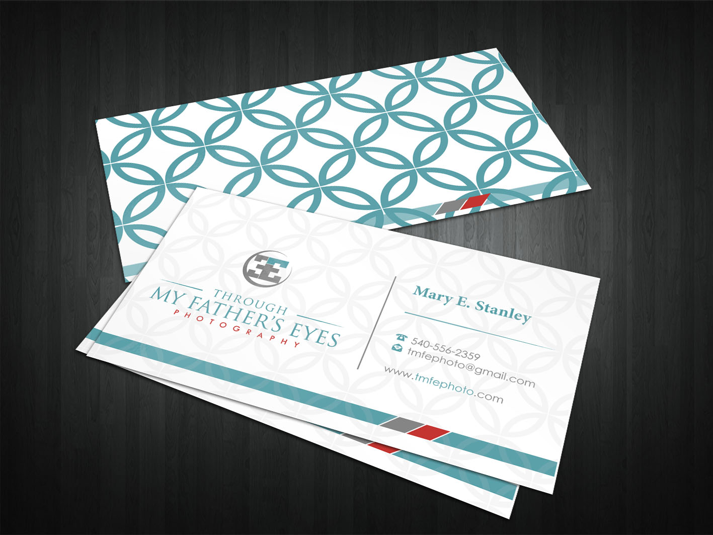 Letterhead, Envelope & Biz Card for TMFE Photography - Photography