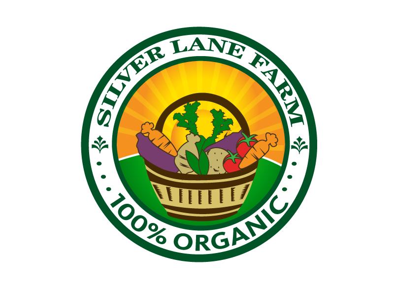 logo for organic vegetable farm by Jamar18
