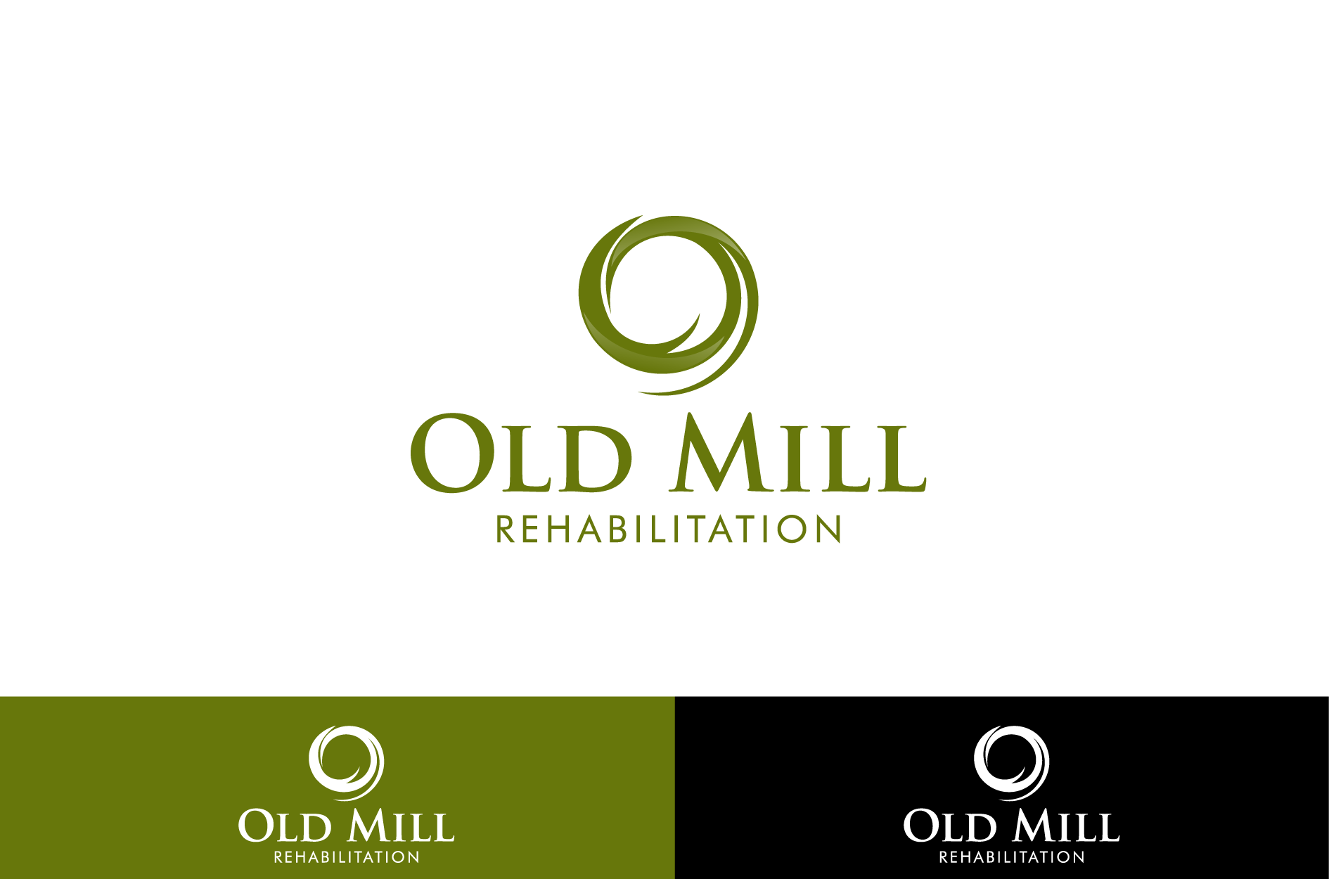Logo for a Transitional Care Rehabilitation Facility - Health Logo