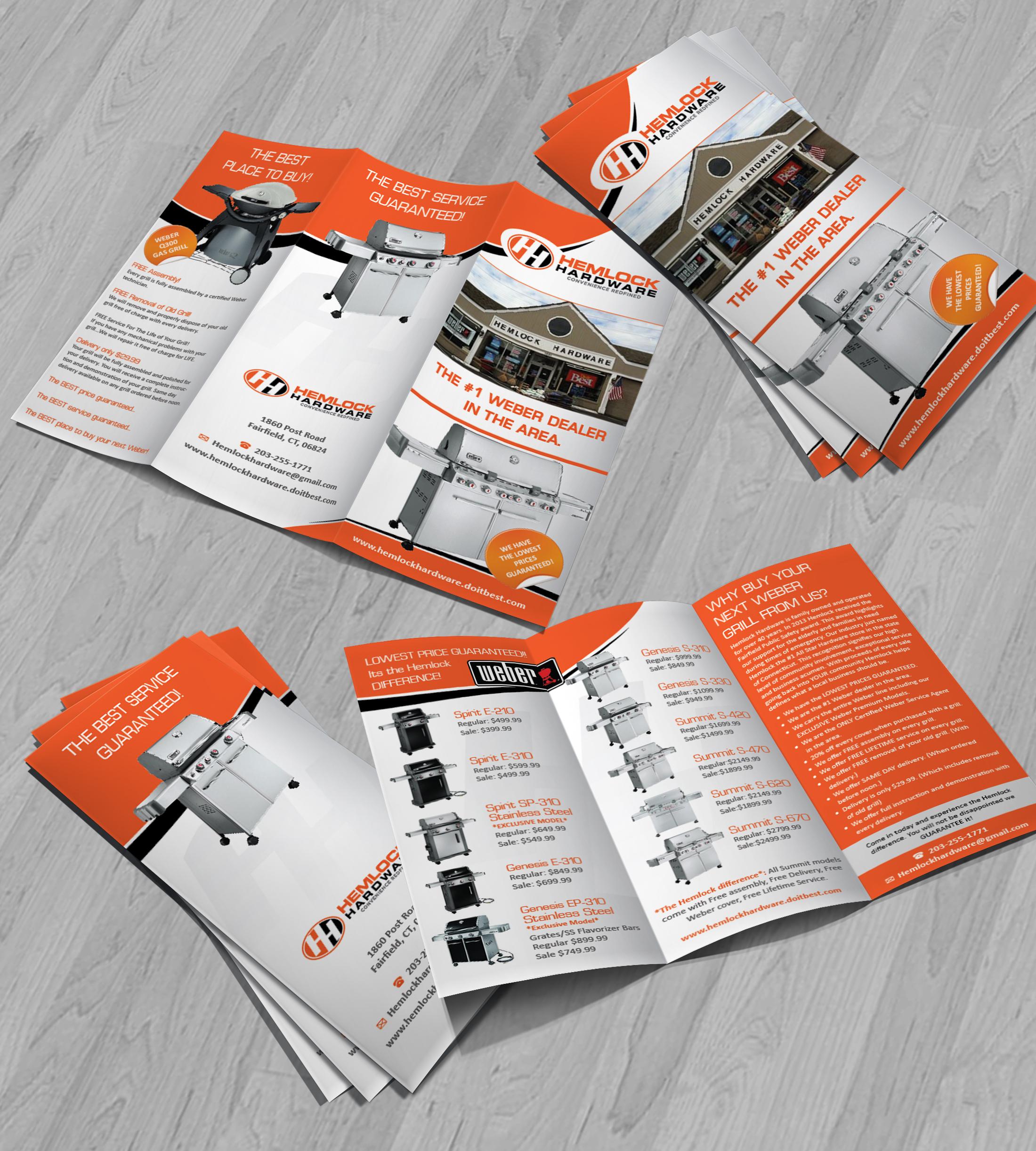 Gas Grill Brochure By Scottpez13
