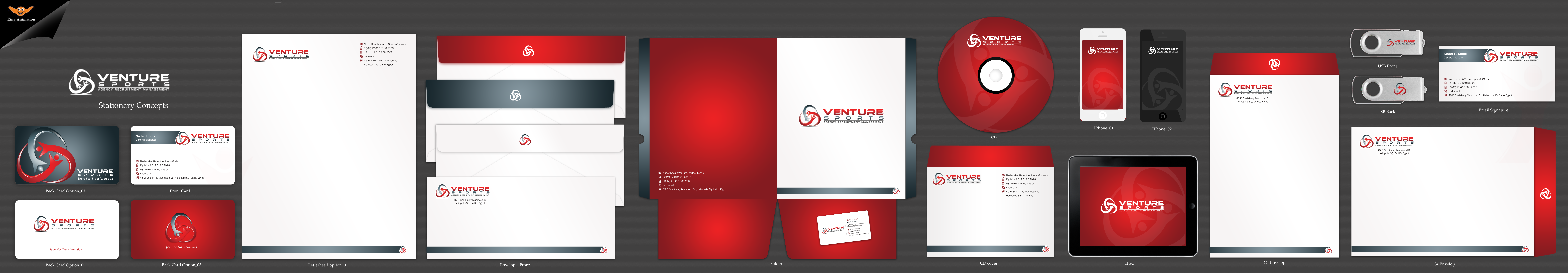 Logo and Stationary for a Sport Management Company  - Business Opportunities