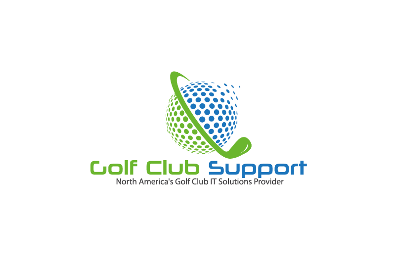 Logo for an IT managed services company - Golf Clubs and private courses - Information Technology