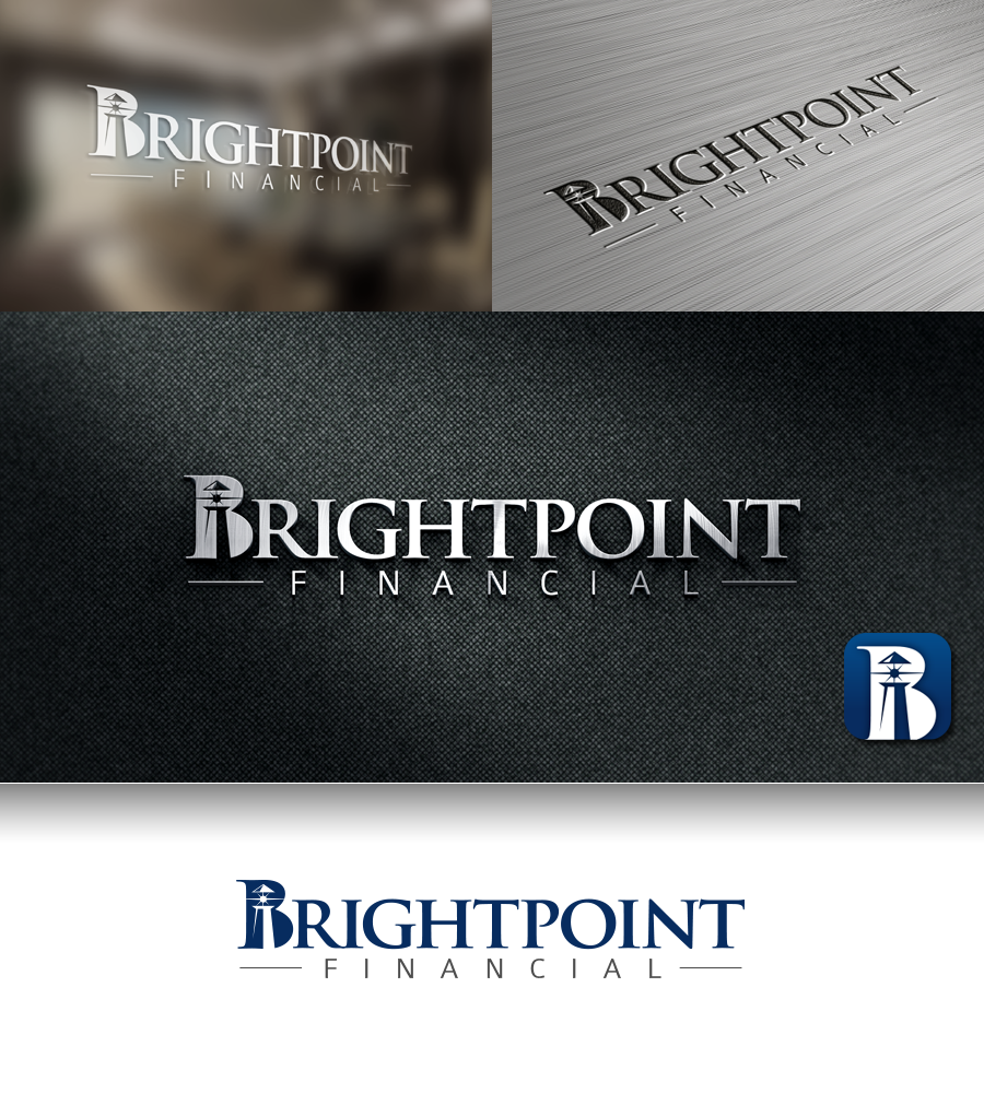 Logo for a wealth management and financial planning company - Financial Services Logo