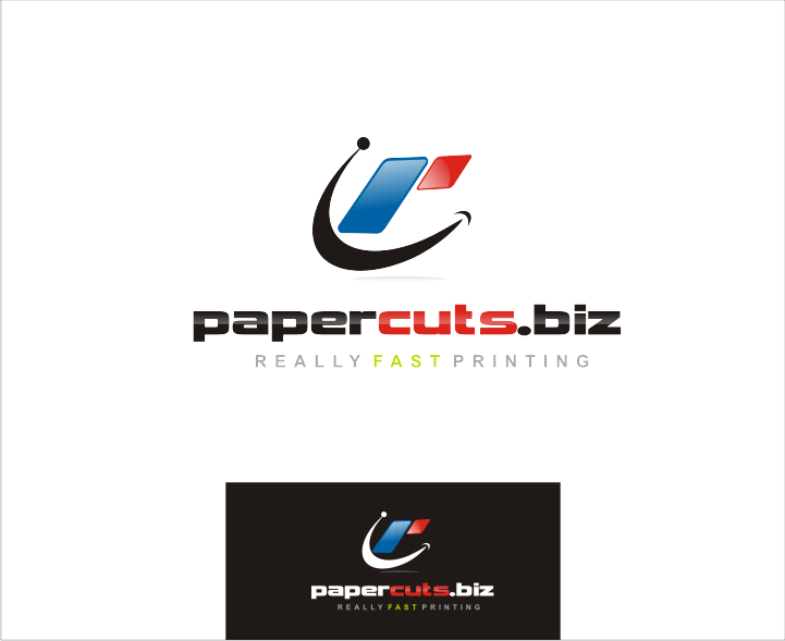 Papercuts logo for a printing company  - Printing Logo