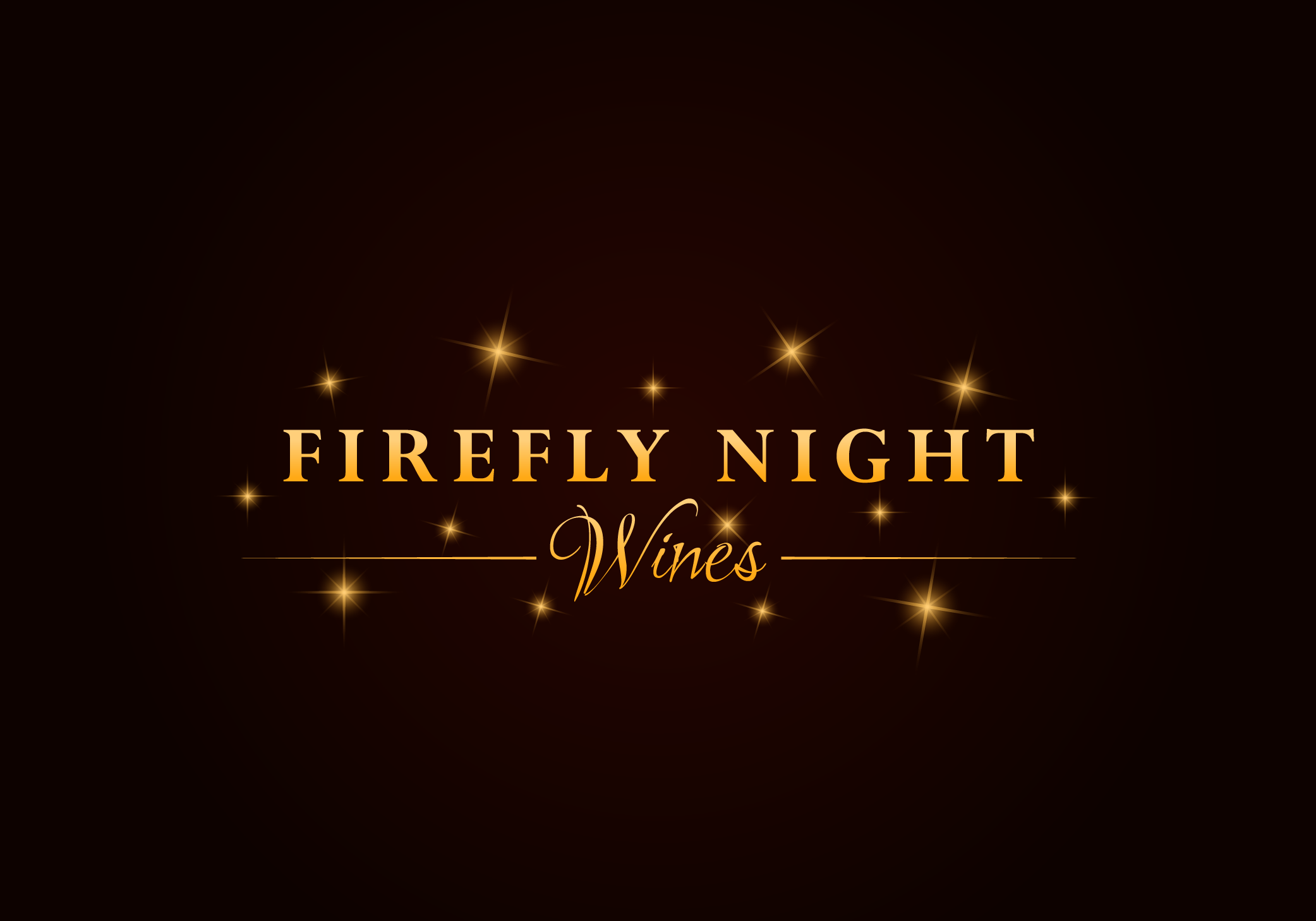 FIREFLY NIGHT Wines Vector Logo Conversion - Beverages