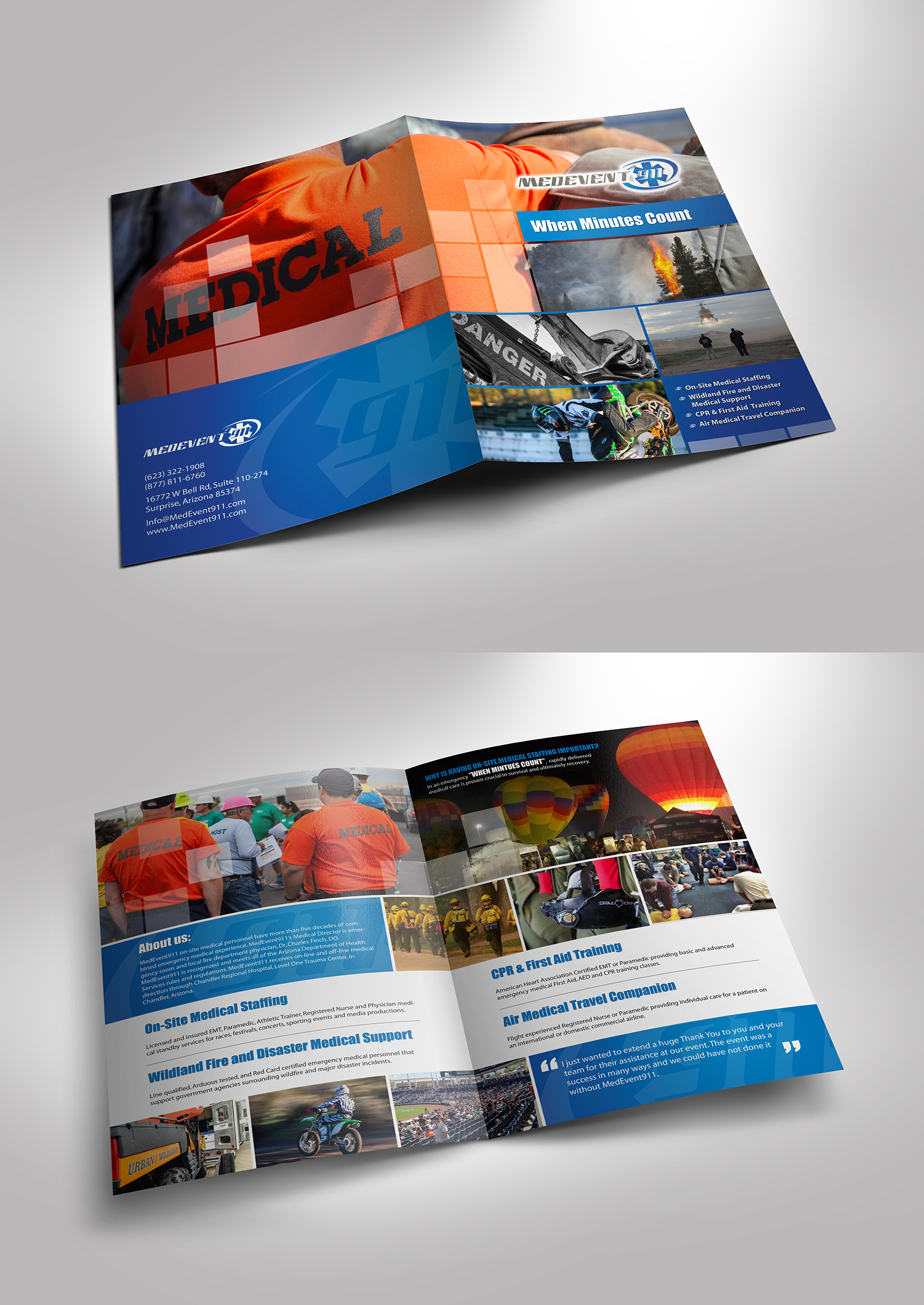MedEvent911 Core Services Brochure - Emergency Services