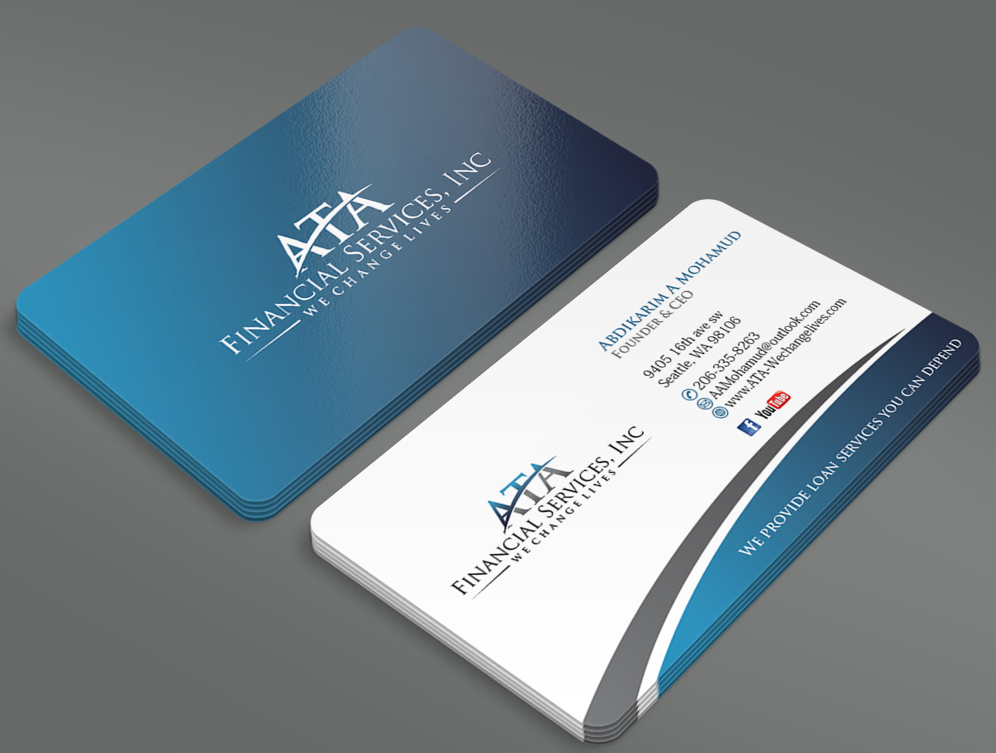 Business Card - Corporate Services