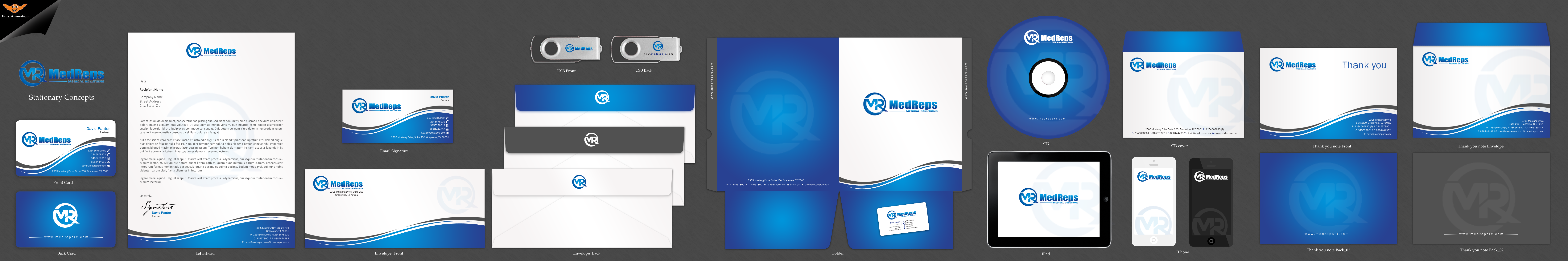Business cards and letterhead - Pharmacy/Pharmaceuticals