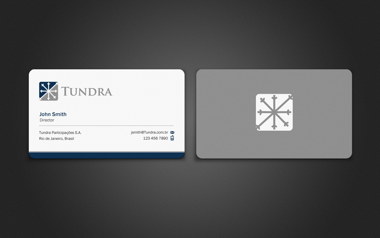 Business Card for TUNDRA SA - Financial Services