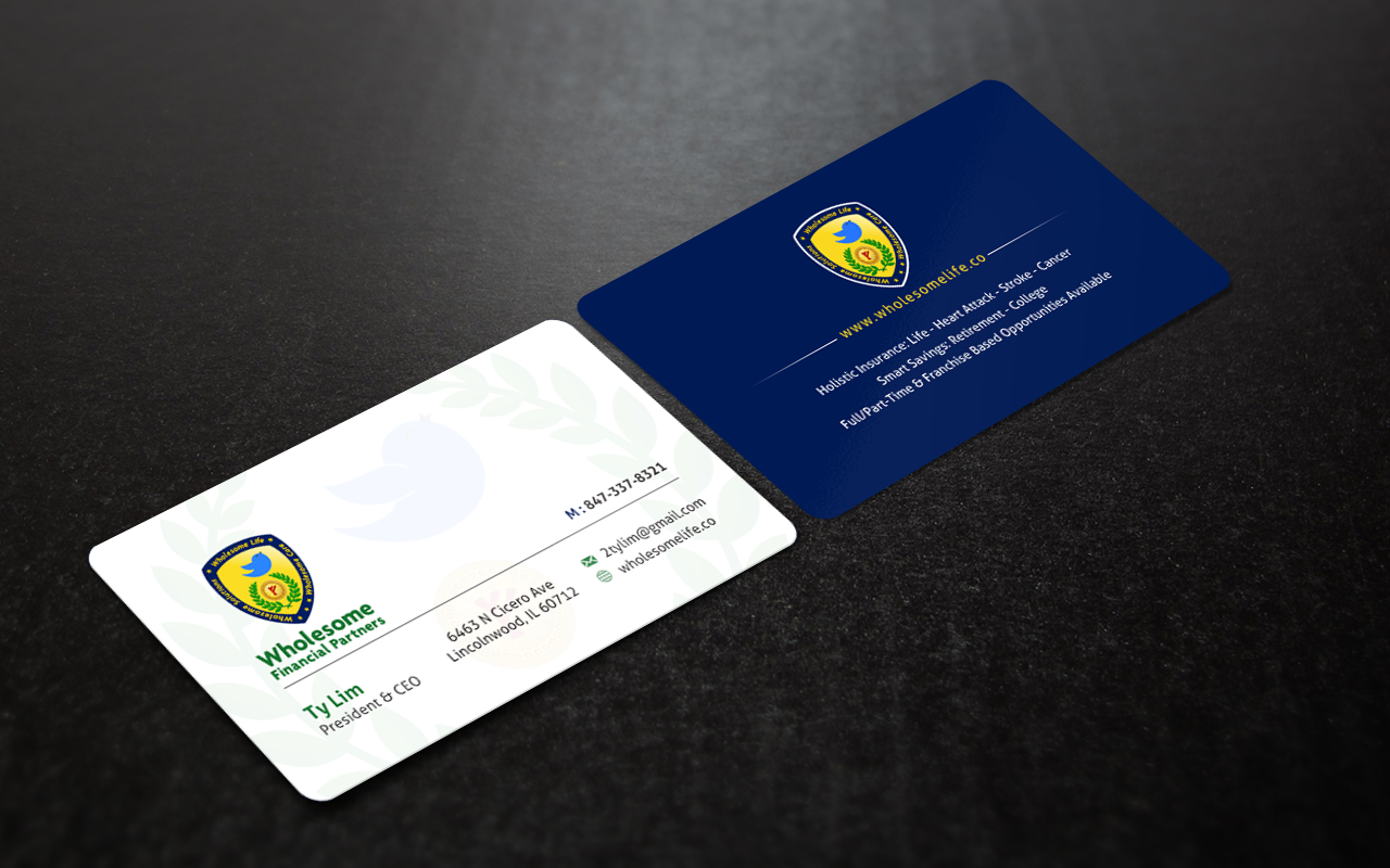 Business Card and Stationery for Insurance & Financial Service - Financial Services