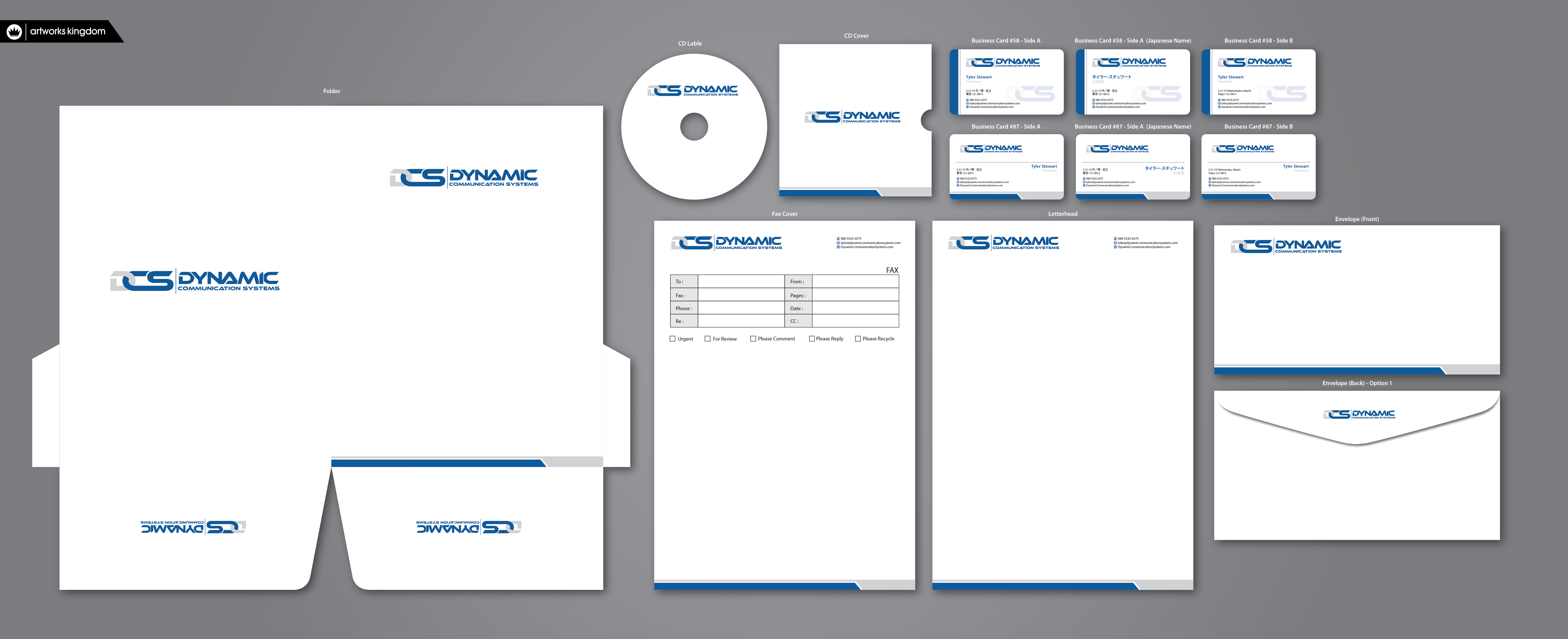 Business cards and stationary for training company  - Corporate Services