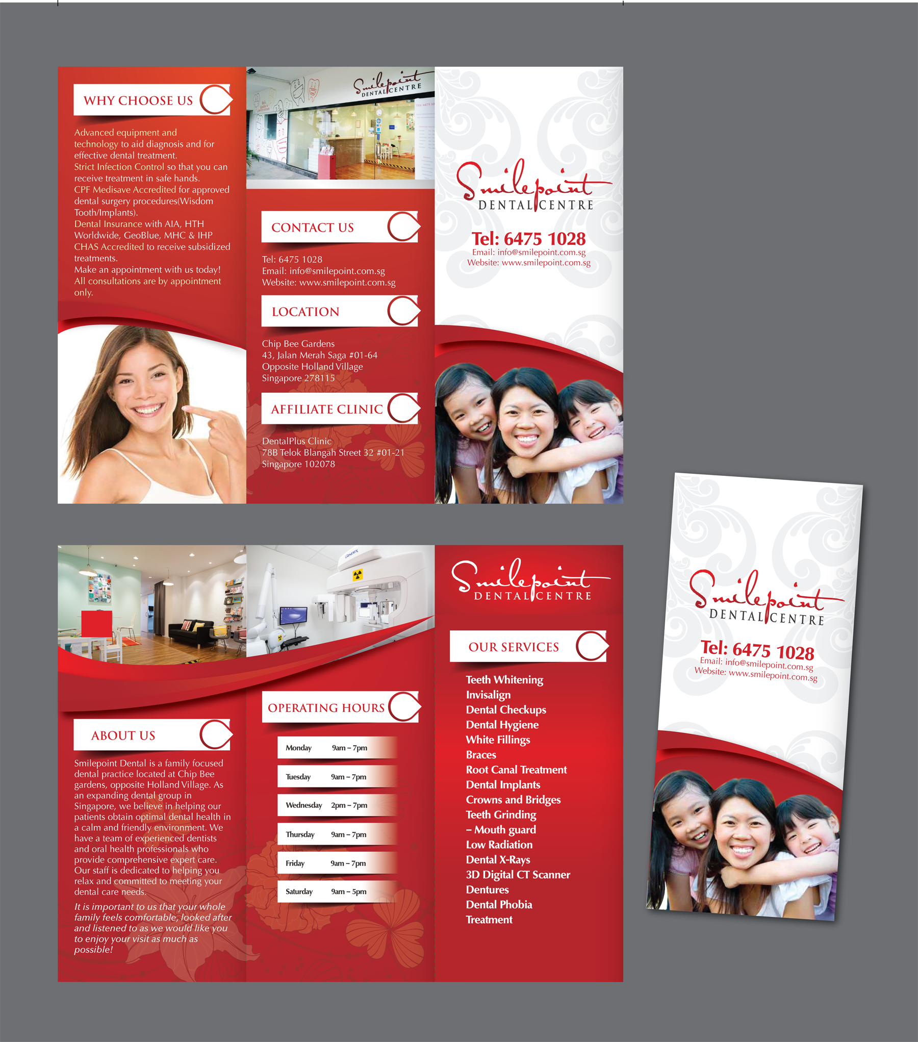 Brochure for a dental clinic - Health