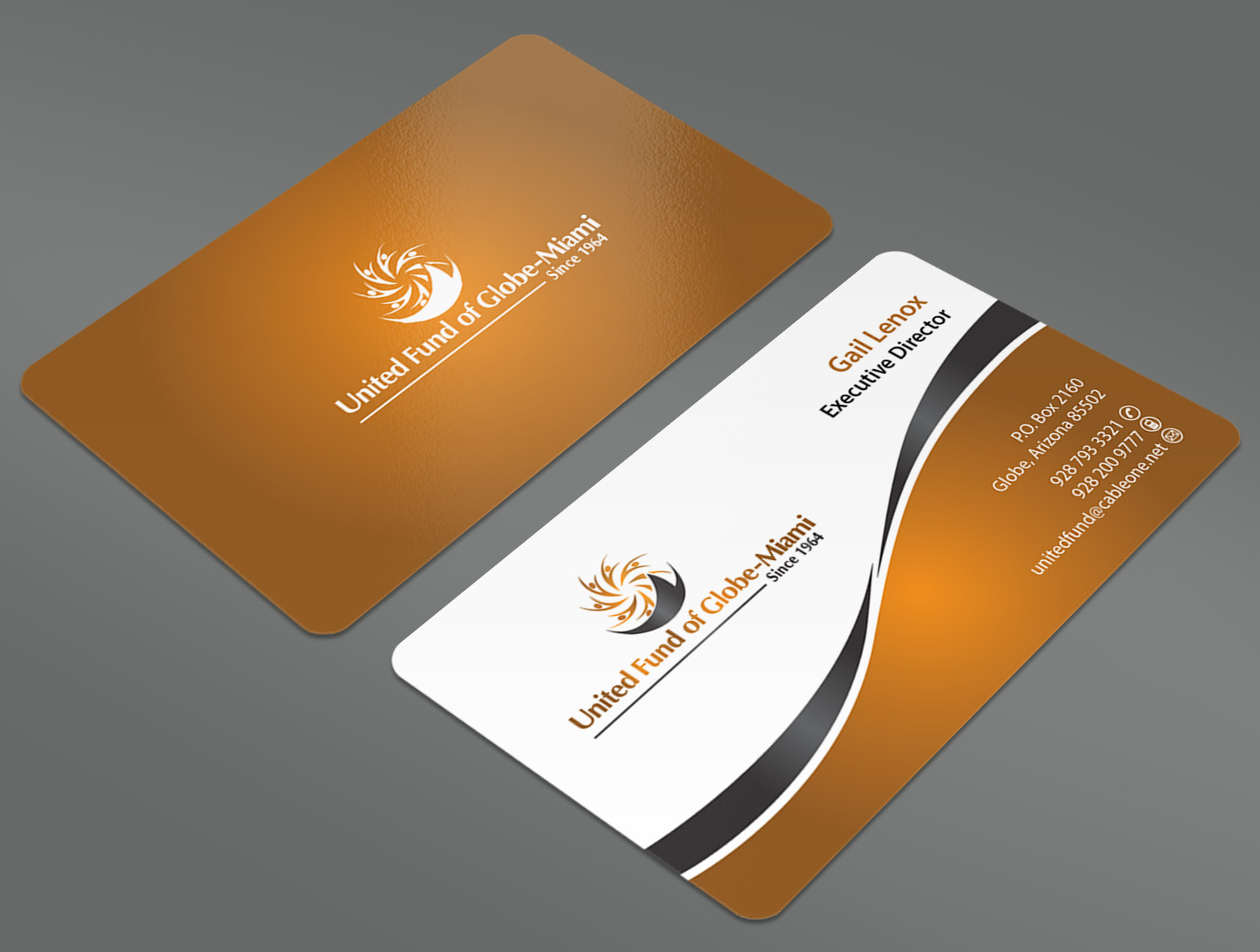United Fund business cards and stationery - Miscellaneous