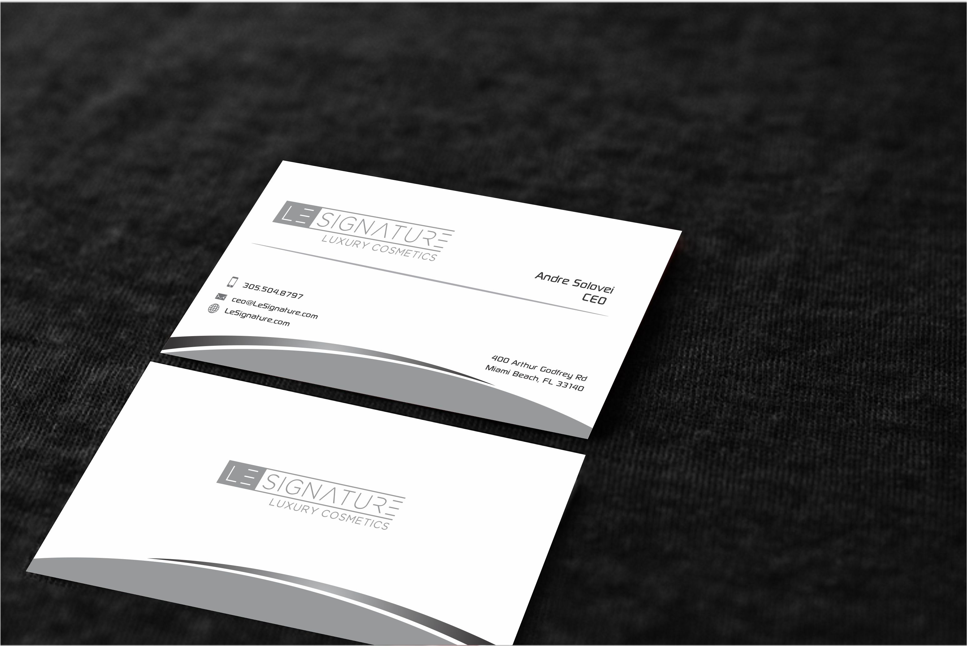 Business Card for Luxury Skincare - Salon & Spa