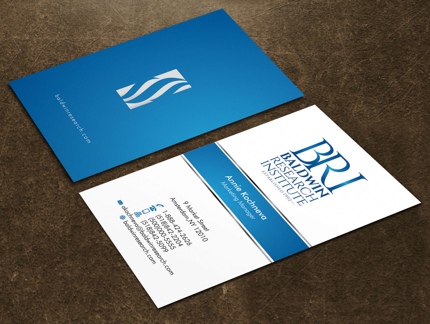 Stationery for a Research Organization ( logo provided) - Health