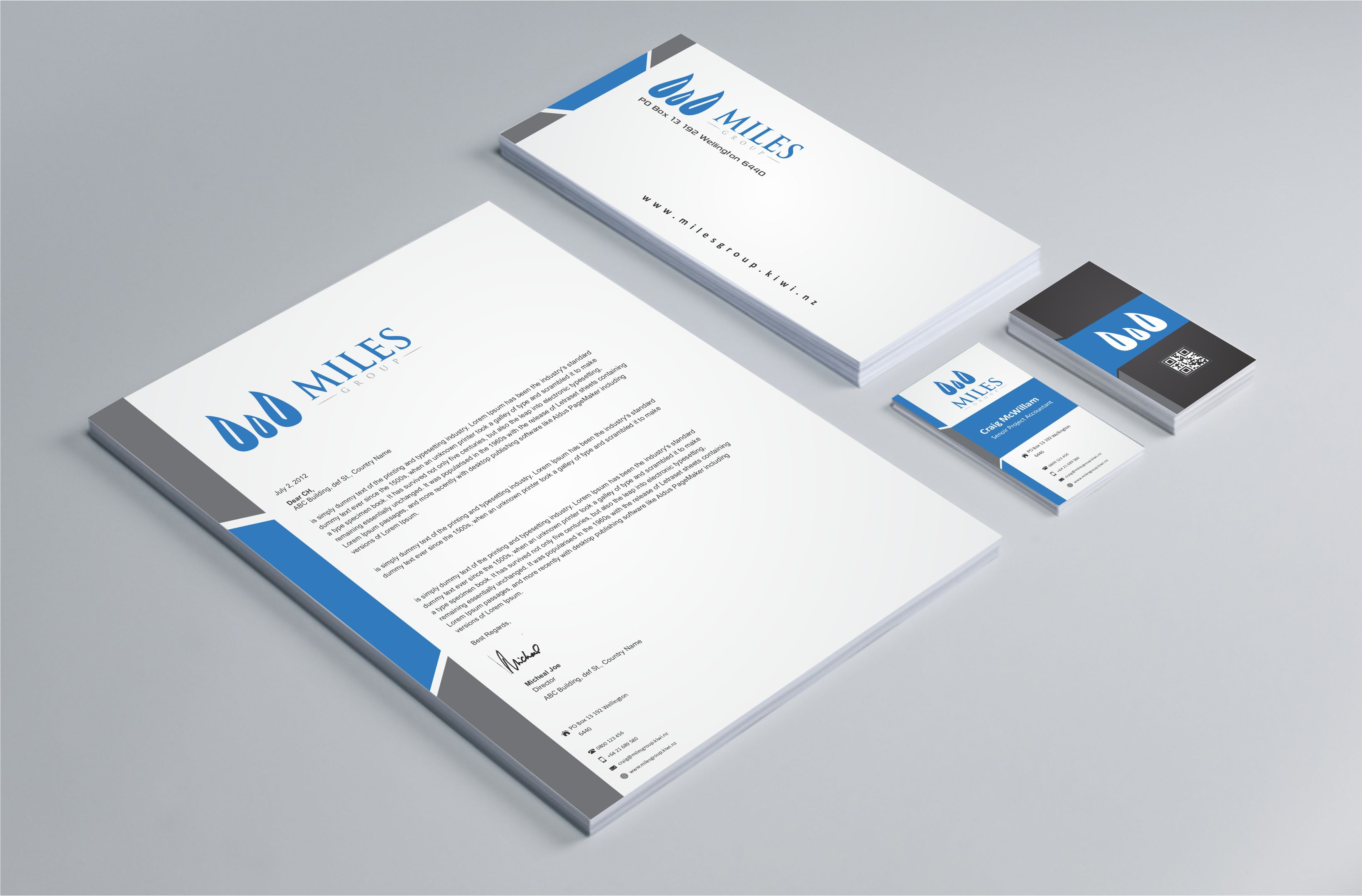Chartered accountants & business advisors company seeks logo & business card design refresh - Financial Services