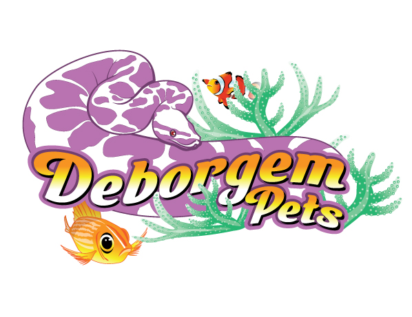 Deborgem Pets - Animals Logo