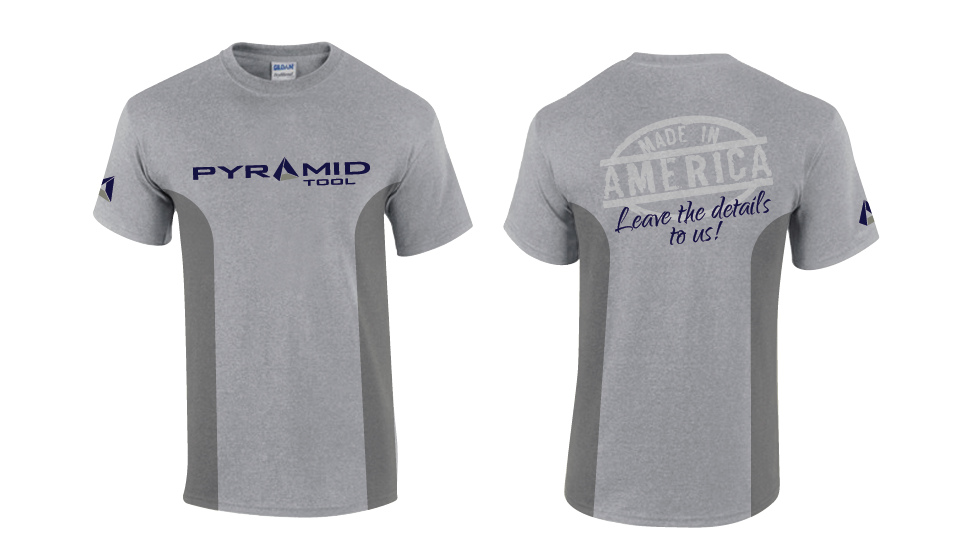 T-Shirt Concept for Pyramid Tool Inc - Manufacturing