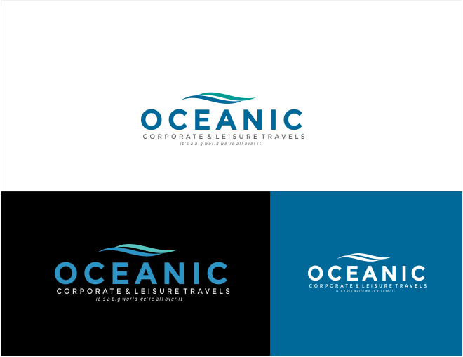 oceanic Travel - Travel Logo
