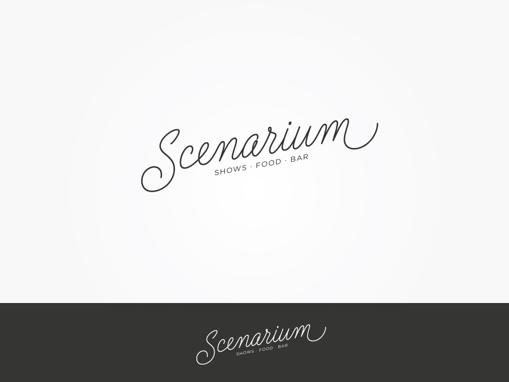 Scenarium - Entertainment Logo