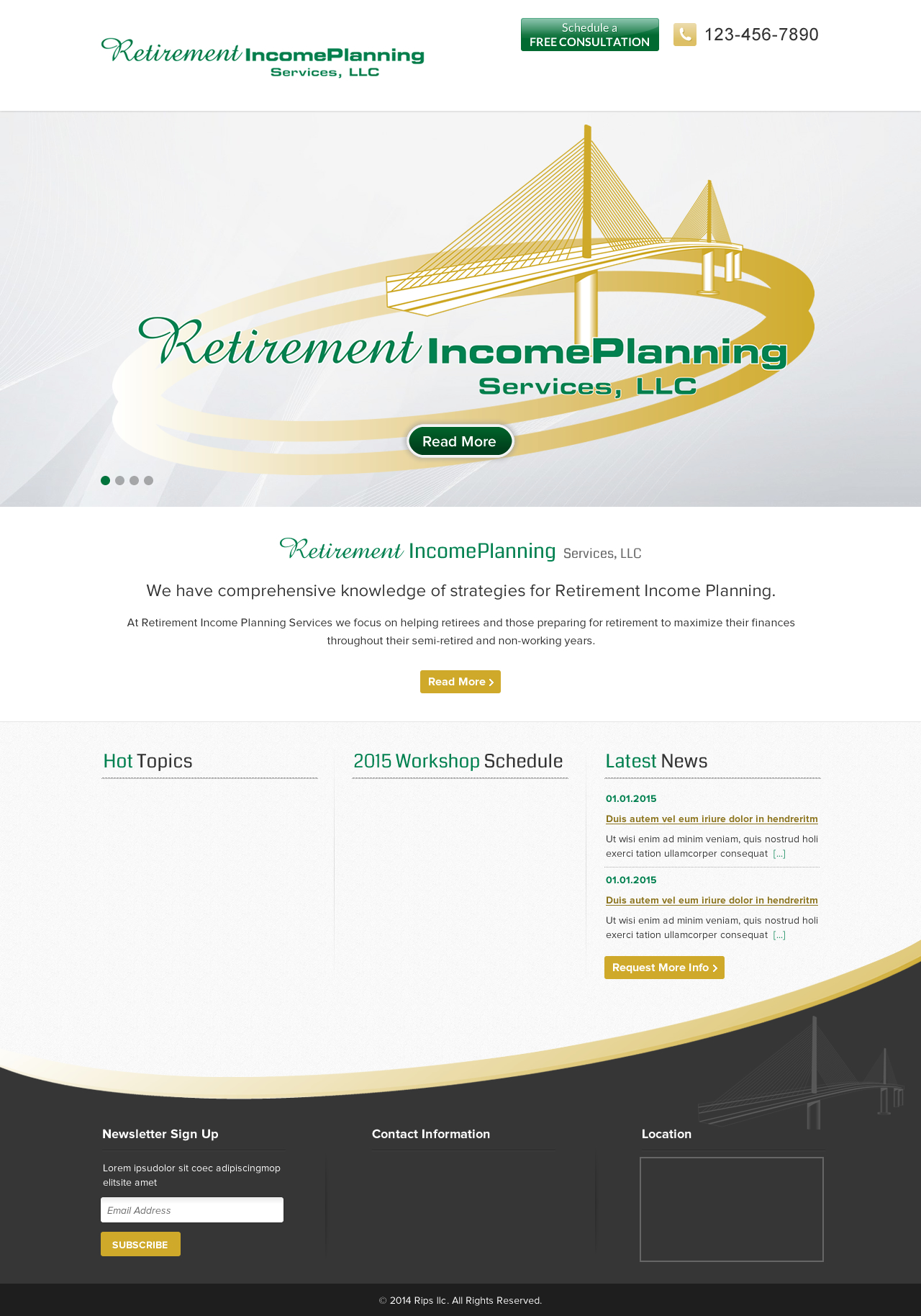 Retirement Income Planning - Financial Services