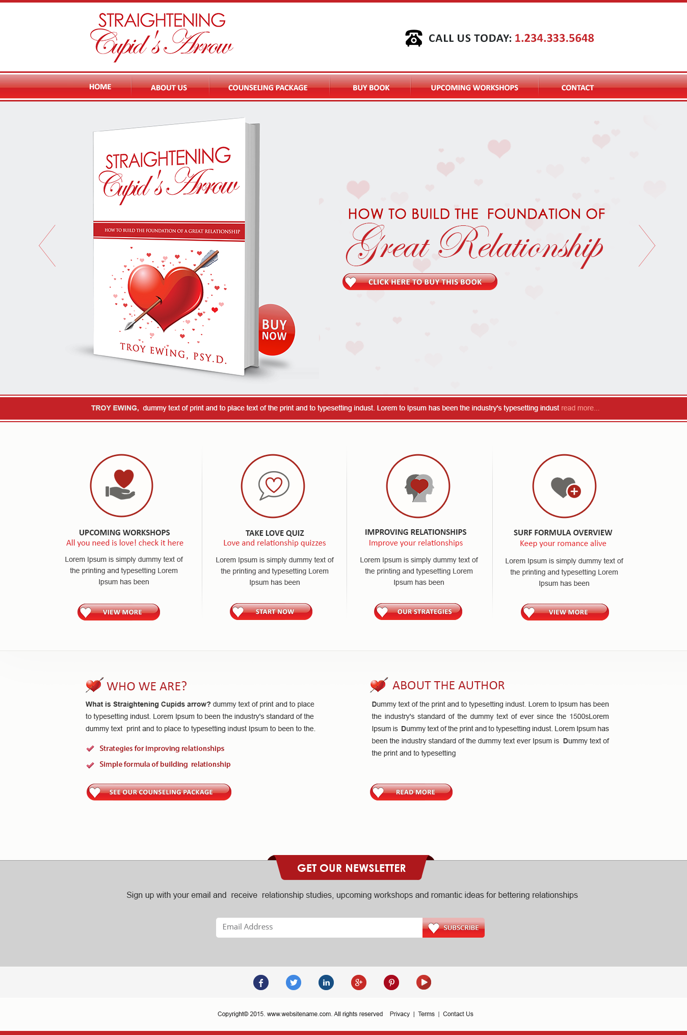 Website Design for fun relationship  - Health