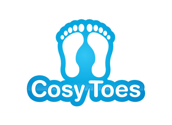 Logo for slipper brand - Cosy Toes - Retailers Logo