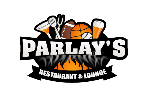 logo for sports bar and grill selling smoked bbq - Food Logo