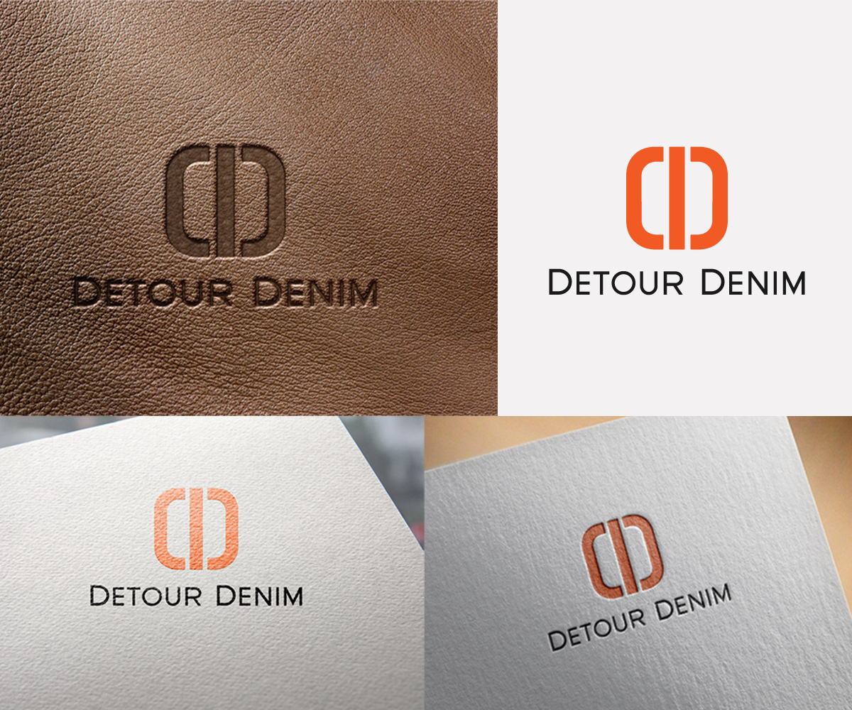 Detour Denim - Apparel Logo