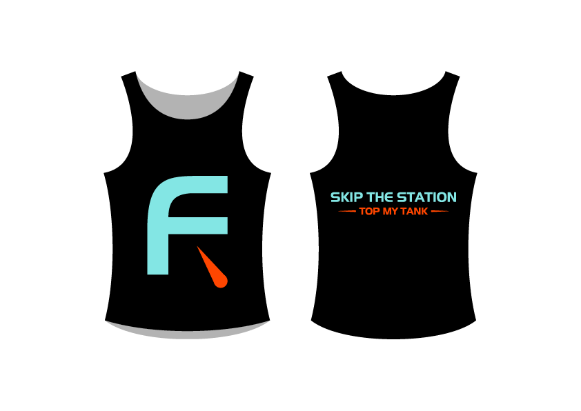 Tank Top Design for Gas Delivery Mobile App - Software