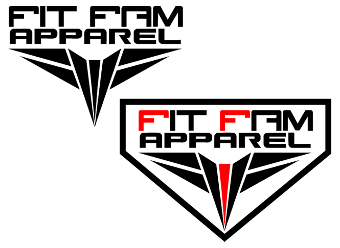 LOGO FOR FITNESS APPAREL CLOTHING LINE by Chambmw